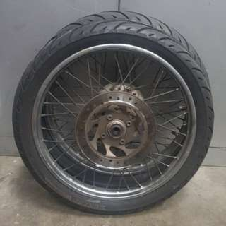 Wheelset Spoke Rims