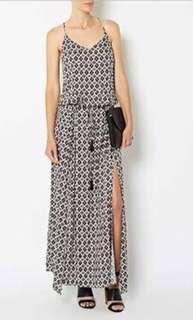 Witchery Patterned Maxi Dress - Size 10