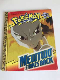 Pokémon - Mewtwo Strikes Back - Little Golden Book