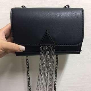 黑色時尚小方包