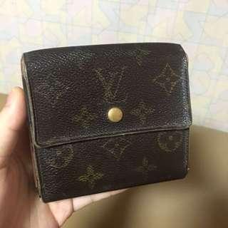 正貨Authentic LV leather Wallet真皮銀包