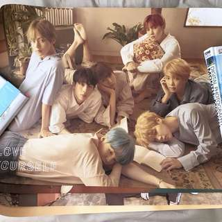 LOVE YOURSELF OFFICIAL POSTERS