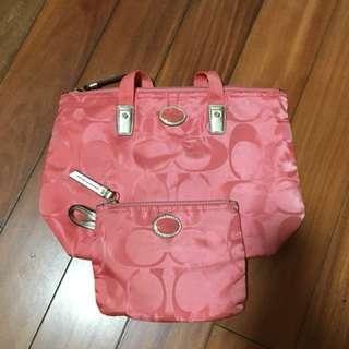 Coach Nylon Totes & Shoppers Handbags & Purses for Women