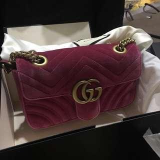 Gucci GG Marmont Velvet