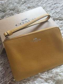 Coach Wristlet (New and Authentic)