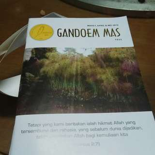 Buku Gandoem mas