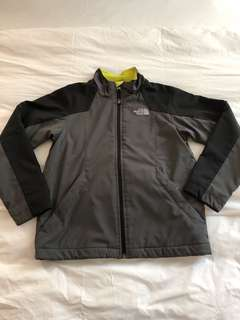 Boys North Face Fleeced Lined Windbreaker