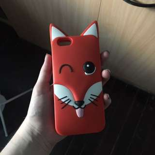 Maison Kitsune iPhone 6/6S phone case