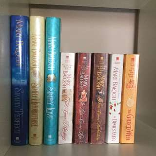 Author Mary Balogh Novel Story Collection