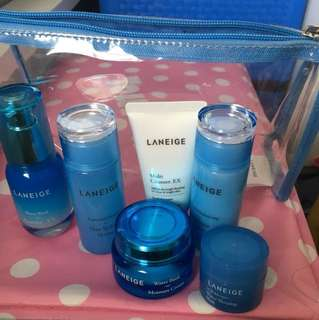 Original Laneige travel set moisture