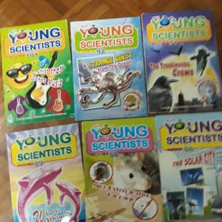 Book clearance! Young Scientists level 1,2,3,4 and Smart Mathematicians