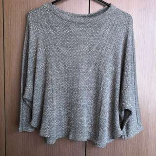 Cotton On Gray Knitted Top