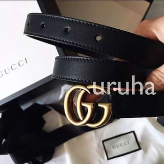 authentic brand new Gucci GG marmont belt
