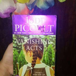 Vanishing Acts Book by Jodi Picoult