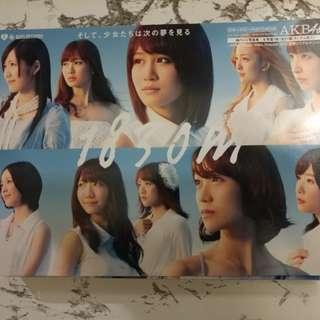 AKB48 1830m 日版 2CD+DVD+PHOTO BOOK 初回