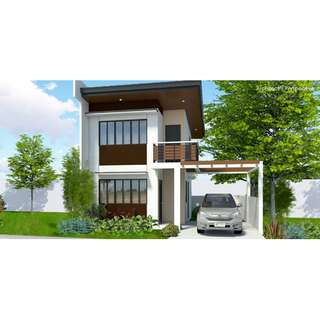 Single Attached House & Lot For Sale Talia in Idesia Dasmarinas Cavite