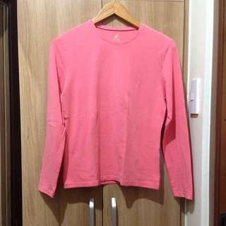 🍃Authentic Giordano Baby Pink Top