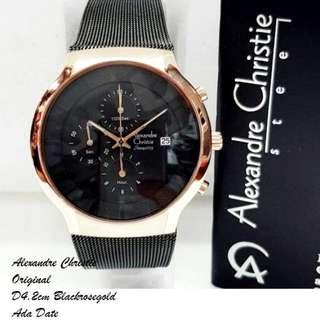 Jam tangan alexander christie ori