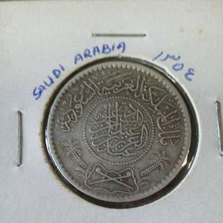 1935 Saudi Arabia 1/2 Riyal