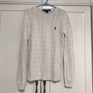 Polo ralph lauren cable knit sweater