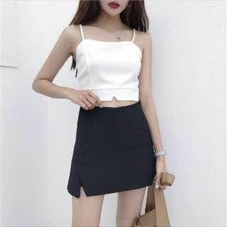 [B/N] Black Skirt