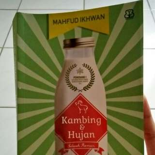 Novel — Kambing dan Hujan by Mahfud Ikhwan