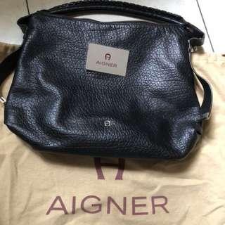 Aigner black bag