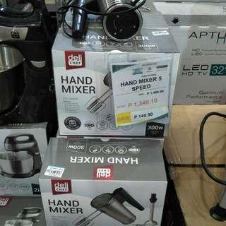 Hand mixer 5 speed