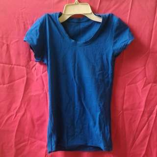 Blue Fitted Shirt