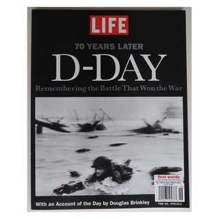 "LIFE ""D-Day 70 Years Later"" magazine/book special"