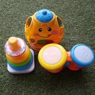 Fisher Price MIX toys