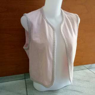 Rompi outer pink muda