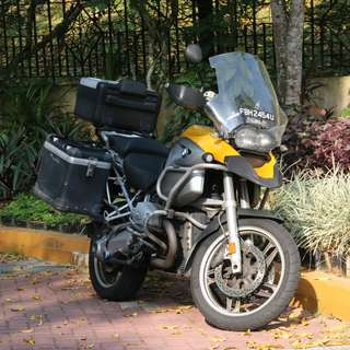 R1200GS needs new rider!