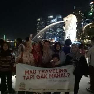 Trip ke singapura 16-18 februari 2018