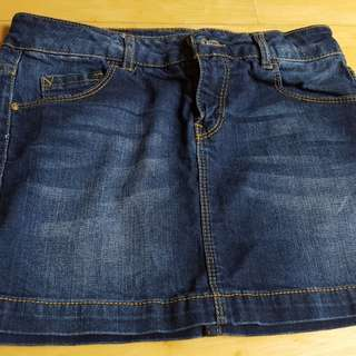 Zara kids denim skirt