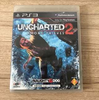 PS3 Games unchartered 2