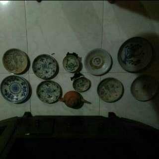Tek sing antique porcelain(year 1822)