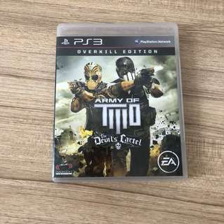 PS3 Games Army of two