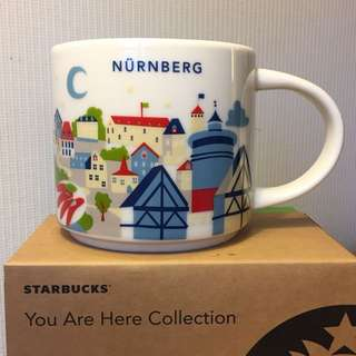 Starbucks You Are Here Series - Nurnburg