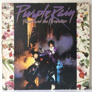 Prince And The Revolution ‎– Purple Rain (1984 USA Original - Vinyl is Very Good)