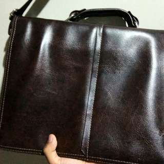 Mont Blanc Briefcase Leather