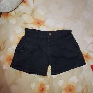 Celana hotpants hitam