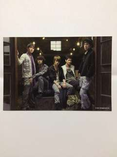 [TVXQ] 3 Avex Postcards + 1 Backstage Photo