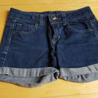 Zara kids denim shorts