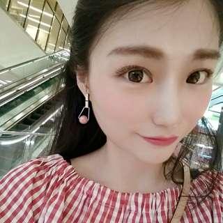Handmadw Natural Stone Earrings
