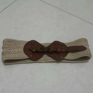 Vintage Belt anyaman