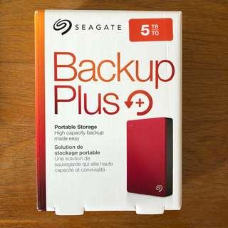 5TB Seagate Backup Plus Portable Hard Disk Drive HDD