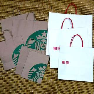 Branded Paper Bag starbucks  #others #stationeries