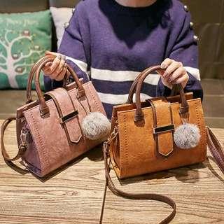 Ladies Shoulder Sling Crossbody Bag / hand bag