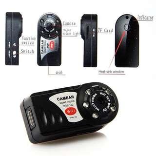 NEW! Mini Wifi DVR P2P Wireless IP Camera Video Recorder Infrared Night Vision Motion Detection Andriod Smartphone Camera